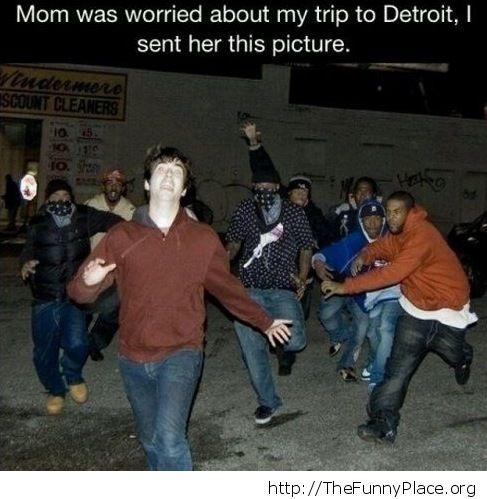 My trip to Detroit