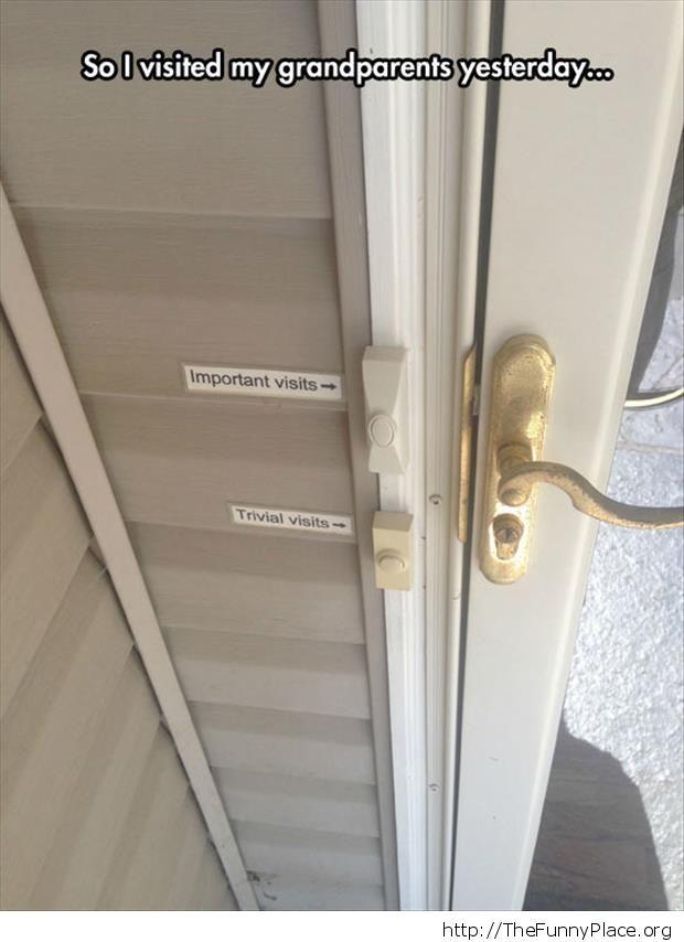 Selective doorbell