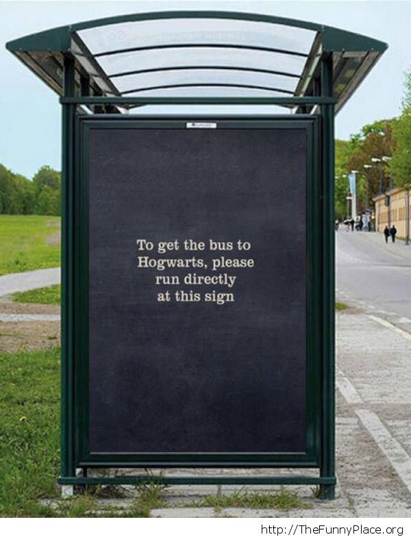 The bus to Hogwarts