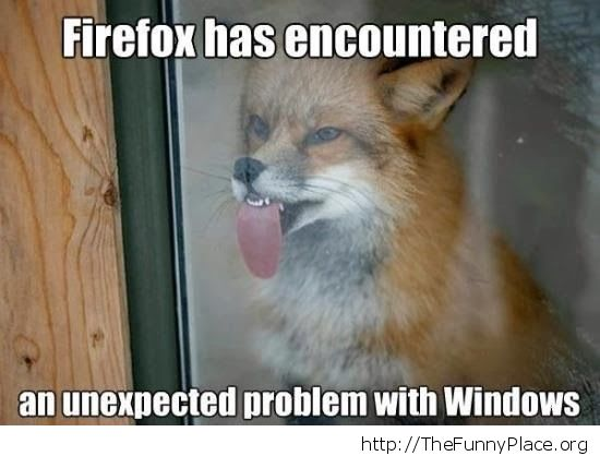 Windows vs Firefox