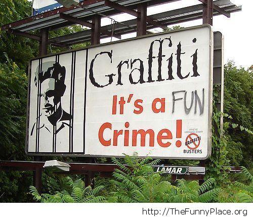 A fun crime