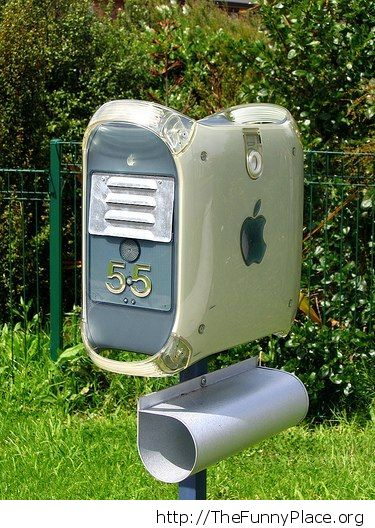 Apple mailbox
