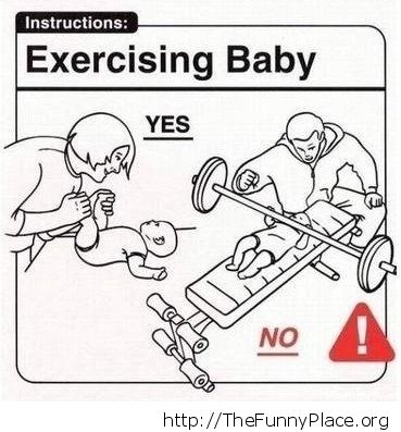 Baby care instructions