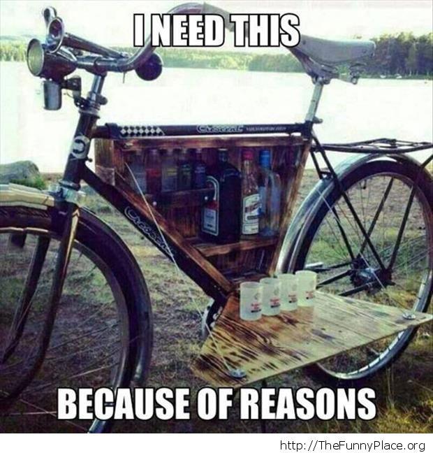 Bicycle bar