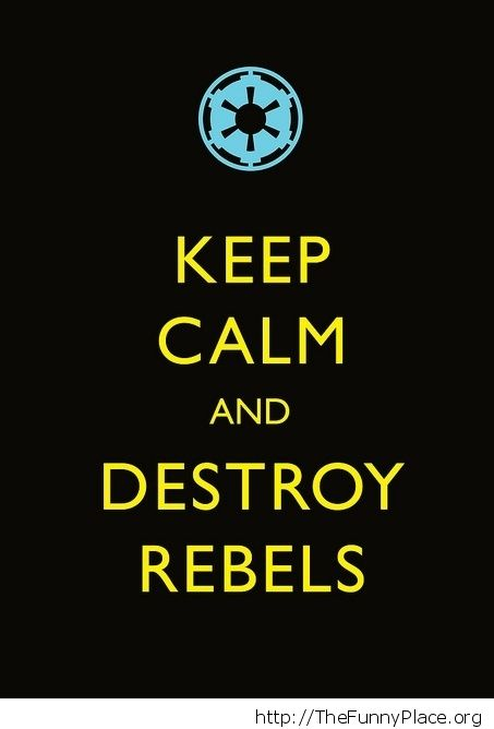 Destroy rebels