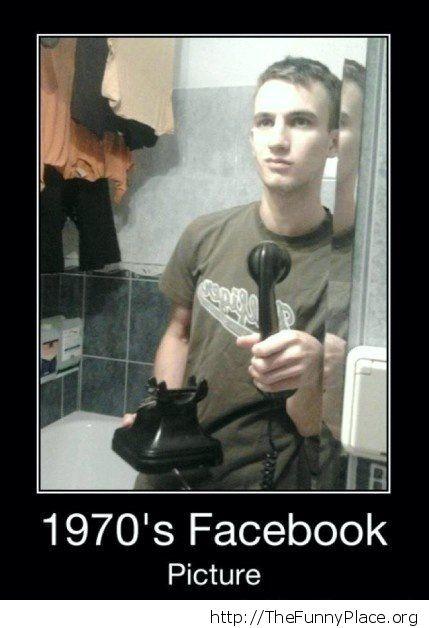Facebook selfie