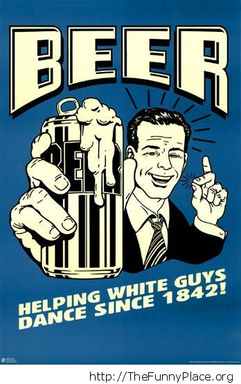 Helping white guys vintage sign