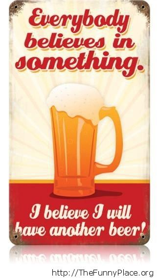 I will have another beer vintage sign