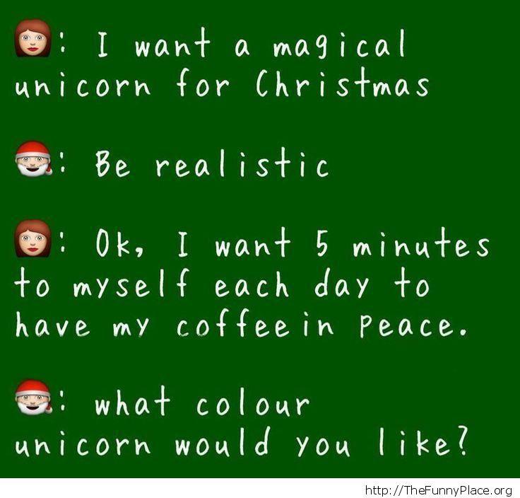 Mother's Christmas wish