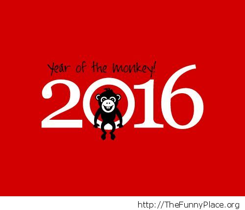 Red monkey year