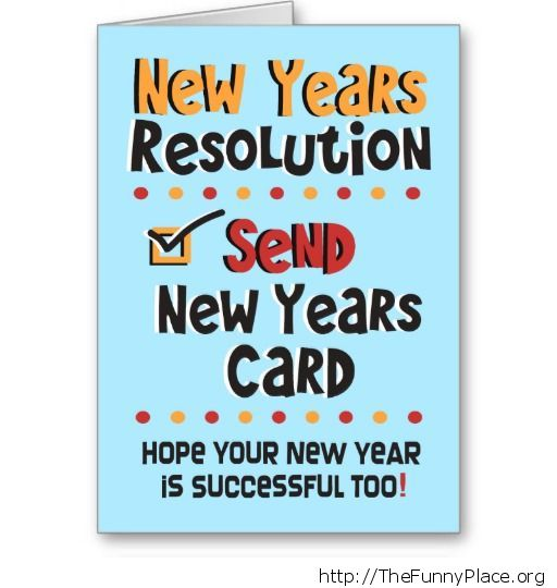 Send new years card