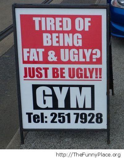 Tired of being fat