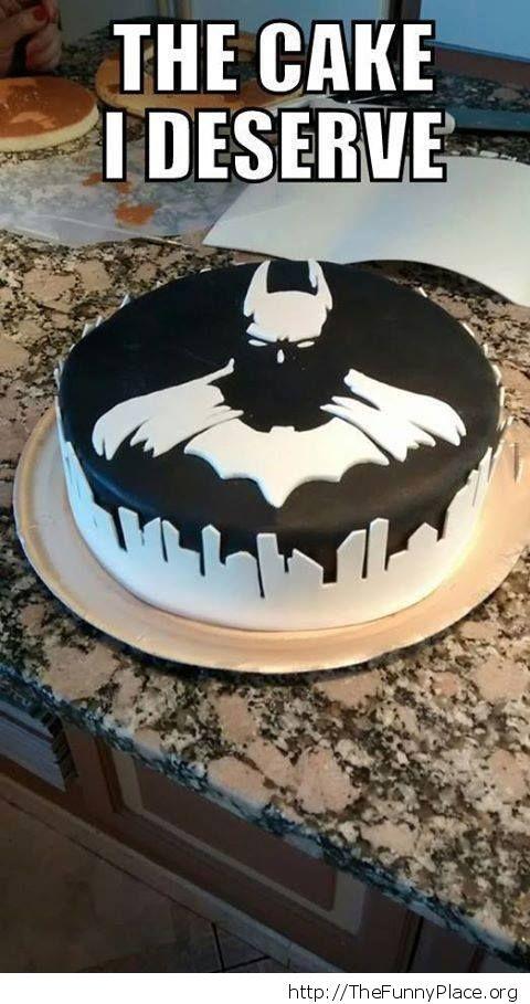 A batman cake