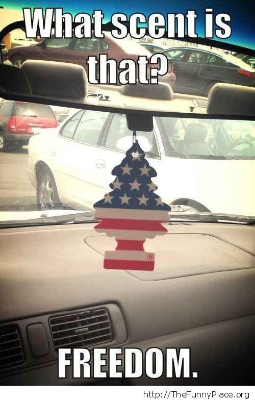 Freedom scent