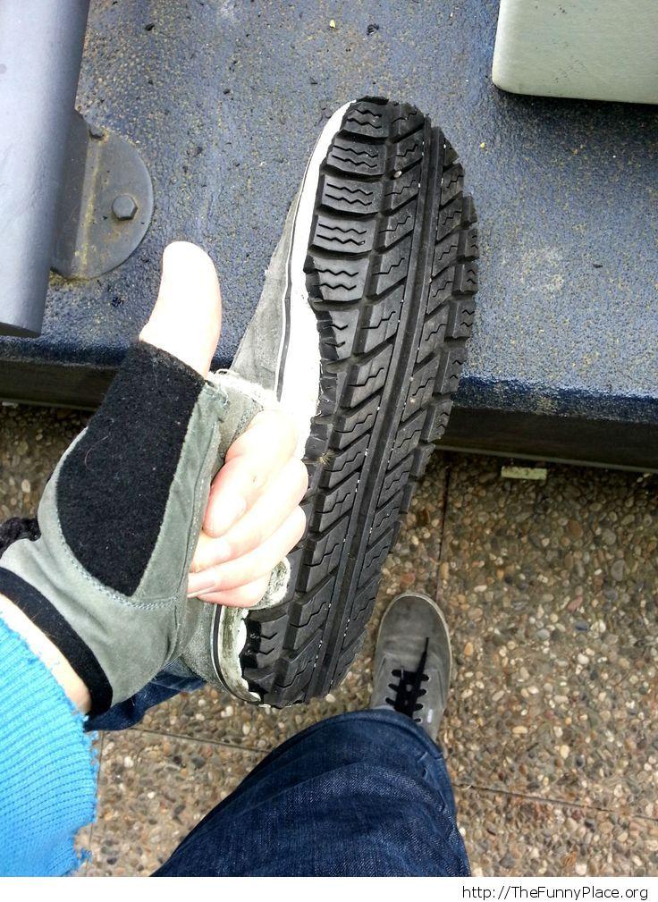 Обувь своими руками из покрышек