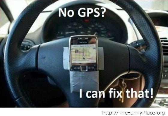 No gps ?