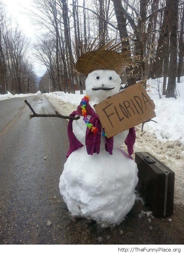 Snowman is out