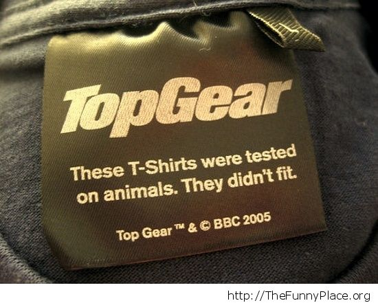 Tested on animals