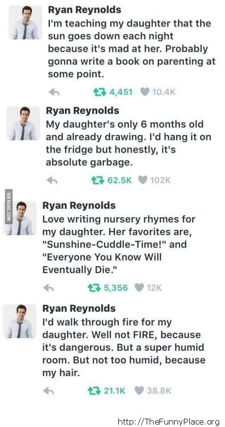 Ryan Reynolds goes wild